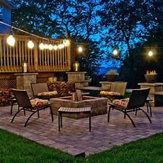 Garden String Lights Ideas Top Outdoor String Lights For The Holidays Teak Patio