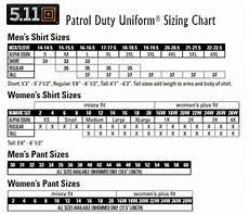 Copsplus 511 Tactical Pdu Patrol Duty Uniforms Size Chart