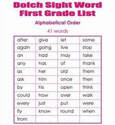 1st Grade Sight Words Dolch Dolch Sight Words Lists Flashcards Games And Worksheets
