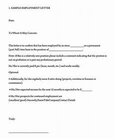 sample letter of employment verification template employment verification letter 40 sample letters and