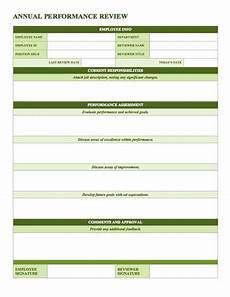 Staff Review Template Free Employee Performance Review Templates Smartsheet