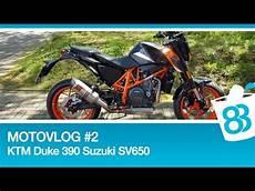 motovlog 2 welches motorrad passt zu mir ktm duke 390 und suzuki sv650 probefahrt