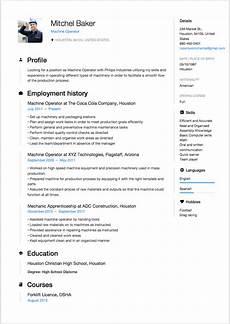 Cnc Machine Operator Resumes Machine Operator Resume Sample Resumeviking Com