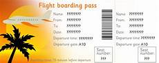Airline Ticket Template Free Early Learning Resources Editable Airline Tickets Eyfs