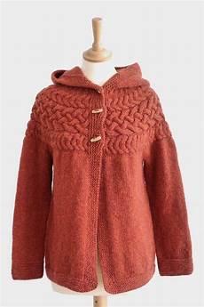 cotton cloud cable yoke jacket for original