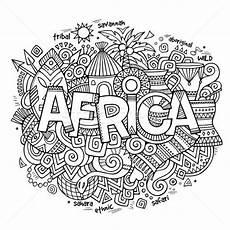 Afrikanische Muster Malvorlagen Xing Africa 183 Etnica 183 Mano 183 Scarabocchi 183 Elementi 183 Simboli