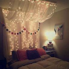 maybe for sam s room bed canopy with lights