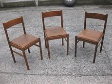 sedie da cucina tre sedie da cucina legno e pelle utileusato