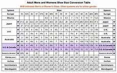 Shoe Number Size Chart Shoe Size Conversion Table Shoe Size Conversion Size 9