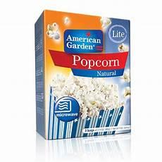 Light Popcorn Microwave Popcorn Natural Light American Garden
