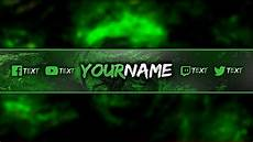 Channel Art Free Channel Art Banner Template Free To Use Channel