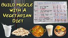 Protein Diet Chart Vegetarian Indian Full Day Diet Plan For Muscle Gain Vegetarian India Diet