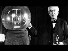 Thomas Edison Light Bulb Thomas Edison The Invention Of The Electric Incandescent