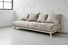 divano futon divano letto senza in legno di pino e futon