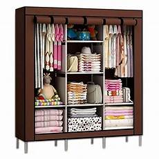 royaldeals fancy and portable foldable closet wardrobe