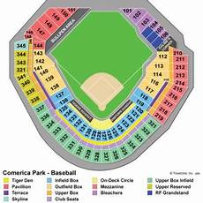 Detroit Tigers Seating Chart Detroit Tigers Seating Chart Tigers Seat Chart View