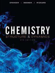 Chemistry Cover Page Designs Chemistry Structure And Dynamics Spencer Rickard