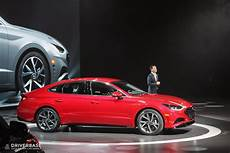 new york auto show 2020 hyundai 2020 hyundai sonata sedan at the 2019 new york auto show