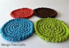mango tree crafts free crochet coasters pattern