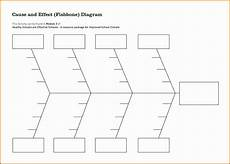 Cause And Effect Diagram Template Excel 6 Cause And Effect Diagram Template Sampletemplatess
