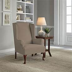fit 174 reversible wingback chair slipcover in