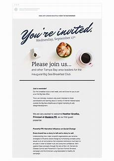 Online Email Invitations 4 Event Invitation Emails That Draw Crowds Campaign Monitor