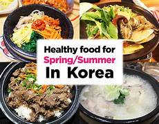 7 healthy korean food for and summer koreatraveleasy