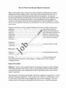 Sample Of Objectives In A Resumes Sample Resumes Free Resume Tips Resume Templatesresume