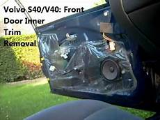 Service Manual 1998 Volvo V70 Remove Front Door Card