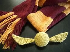 knit art golden snitch knitting pattern make