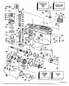 Johnson 1996 90 J90sledr Gearcase 25 In Models Parts