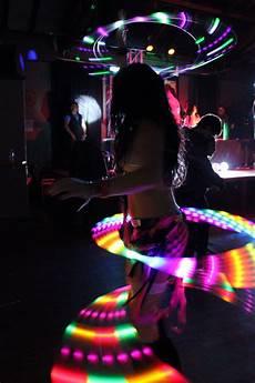 Hula Hoop Girl Lights Cool Led Hula Hoop Lights Edm Dance Music Rave Festival