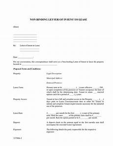 Non Binding Letter Of Intent Non Binding Letter Of Intent To Lease Edit Fill Sign