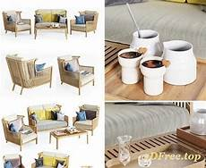 Outdoor Slipcovers For Sofa 3d Image by Sofa And Chair Outdoor 3d Models