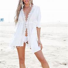 sleeve cover ups for swimwear wome bikinis cover ups blouse tops lace sleeve