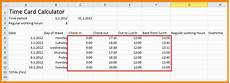 Timesheet Calculator With Break Timesheet Calculator With Lunch Break And 8 Time Card