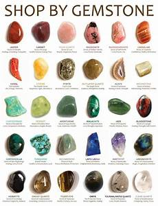 Stone Meanings Chart Everyday Witch A Good Stone Chart Gemstones Meanings