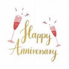 Happy Anniversary Design Golden Happy Anniversary Typography Vector Download Free