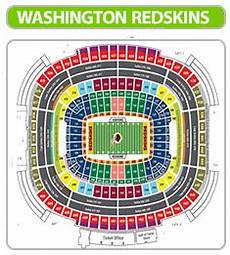 Fedex Seating Chart Fedex Field Seating