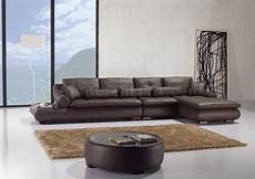 espresso leather sectional sofa w matching coffee table