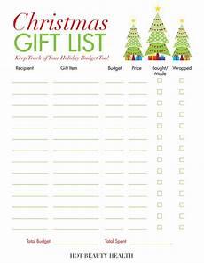 Christmas List Maker Printable Holiday Gift Guide 2019 Gift Ideas For Women Men Amp Kids