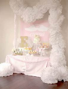 Angles Theme Party Reveal Little Angel First Birthday Party Project