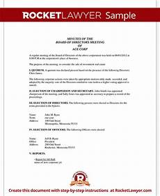 Business Meeting Minutes Template Free Corporate Minutes Corporate Minutes Template With Sample