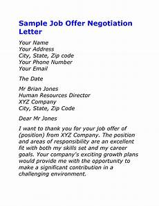 How To Negotiate A Job Offer 49 Best Salary Negotiation Letters Emails Amp Tips ᐅ