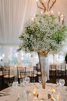 tall babys breath centerpiece in 2019 my photography