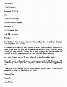 Retirement Letters Examples Retirement Letter And How To Make It Amazed The Reader
