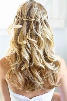 frauen frisuren langhaar locken essential guide to wedding hairstyles for hair