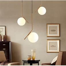 Light Design Modern Minimalist Art Deco Pendant Lights Ball Glass Shade