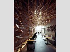 Cave like Space for Starbucks   InteriorZine
