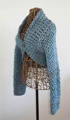 crochet shrug no seam shrug free crochet pattern
